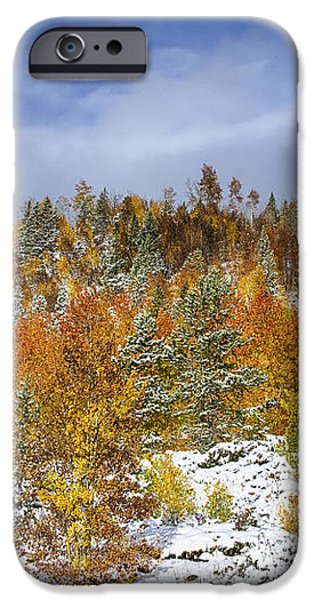 Rocky Mountain Autumn Storm iPhone Case by James BO  Insogna