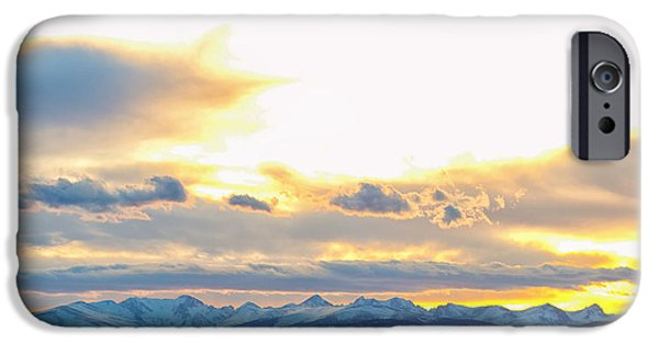 Epic iPhone Cases - Rocky Mountain Lookout Sunset Panorama iPhone Case by James BO  Insogna