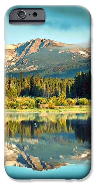 Rocky Mountain Morning iPhone Case by Gregory Ballos
