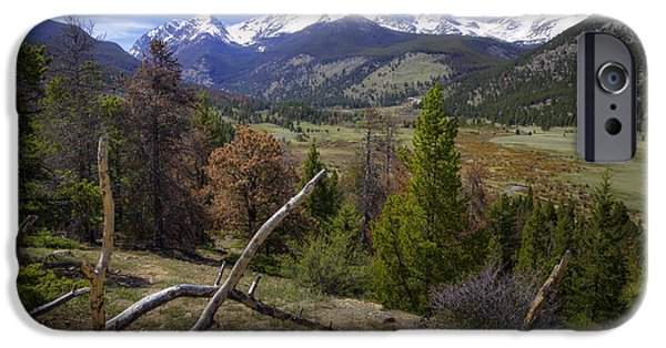 Meadow Photographs iPhone Cases - Rocky Mountain National Park iPhone Case by Joan Carroll
