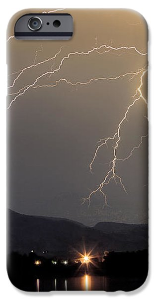 Rocky Mountain Thunderstorm  iPhone Case by James BO  Insogna