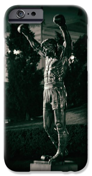 Sylvester Stallone iPhone Cases - Rocky iPhone Case by Scott  Wyatt