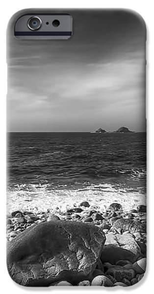 Rocky Shore iPhone Case by Chris Thaxter