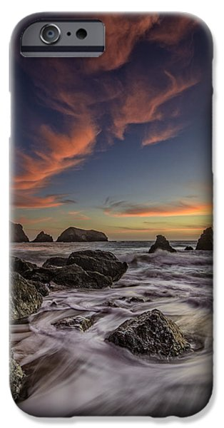 Marin iPhone Cases - Rodeo Sunset iPhone Case by Rick Berk