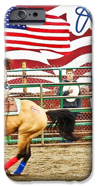 RODEO iPhone Case by Terry Cotton