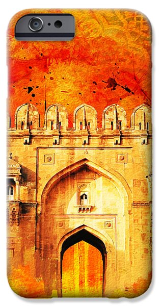 Rohtas Fort 01 iPhone Case by Catf
