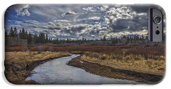 West Fork iPhone Cases - Roll On iPhone Case by Mitch Shindelbower