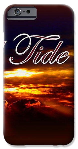 Roll Tide Roll w Red Border - Alabama iPhone Case by Travis Truelove