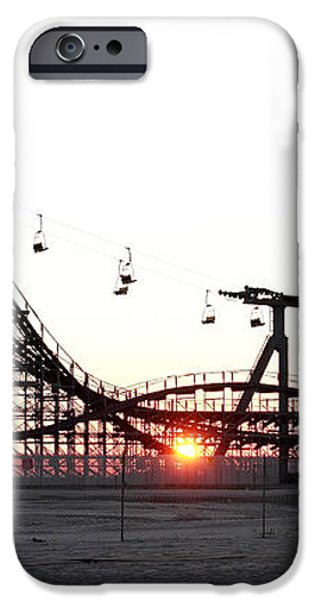 Roller Coaster iPhone Case by John Rizzuto