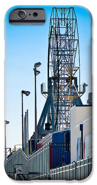 Seagull Mixed Media iPhone Cases - Rollercoaster iPhone Case by Trish Tritz