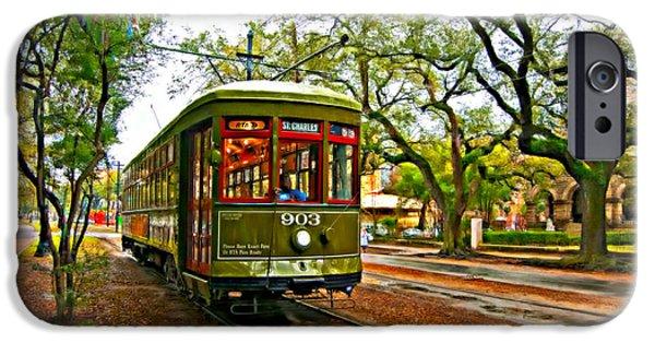 Rainy Day iPhone Cases - Rollin Thru New Orleans 2 iPhone Case by Steve Harrington