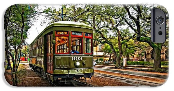 Best Sellers -  - Rainy Day iPhone Cases - Rollin Thru New Orleans iPhone Case by Steve Harrington