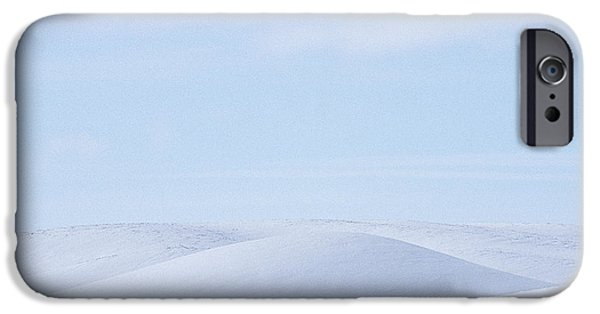 Contour Farming iPhone Cases - Rolling Palouse Winter iPhone Case by Latah Trail Foundation