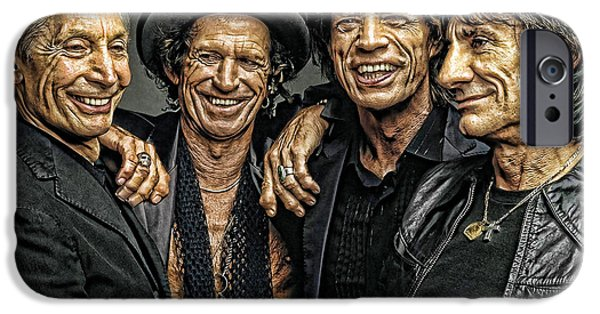 Photograph iPhone Cases - Rolling Stones iPhone Case by Riccardo Zullian