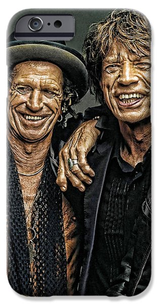 Rolling Stones iPhone Case by Riccardo Zullian