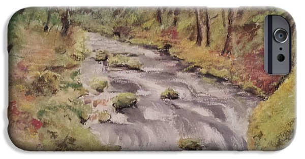 Forest iPhone Cases - Rolling Stream iPhone Case by Jeffrey McDonald