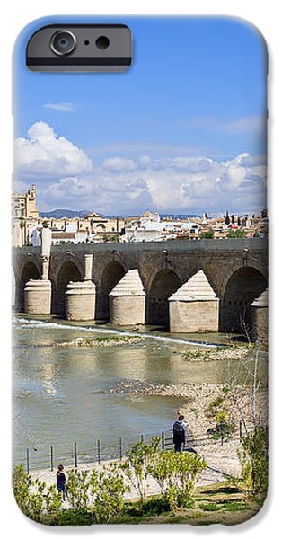 Roman Bridge in Cordoba iPhone Case by Artur Bogacki