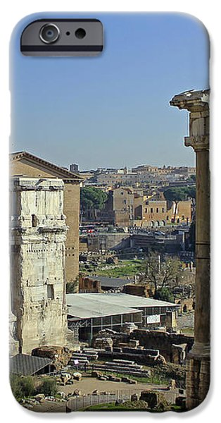 Roman Forum  iPhone Case by Tony Murtagh