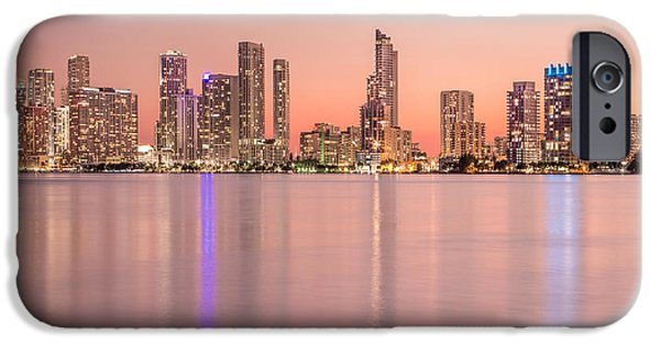 Miami Photographs iPhone Cases - Romancing The Light iPhone Case by Evelina Kremsdorf