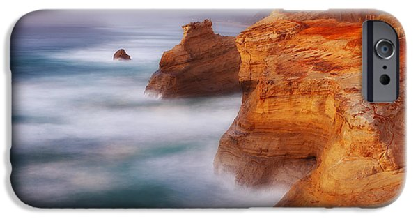 Pacific Ocean Prints iPhone Cases - Romancing the Stone iPhone Case by Darren  White