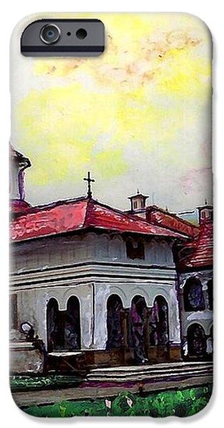 Romanian Monastery iPhone Case by Sarah Loft
