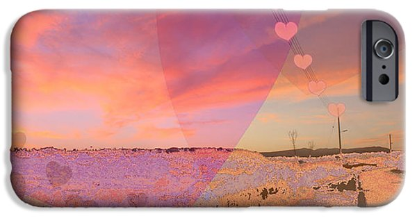 Amazing Sunset iPhone Cases - Romantic Sunset iPhone Case by Augusta Stylianou