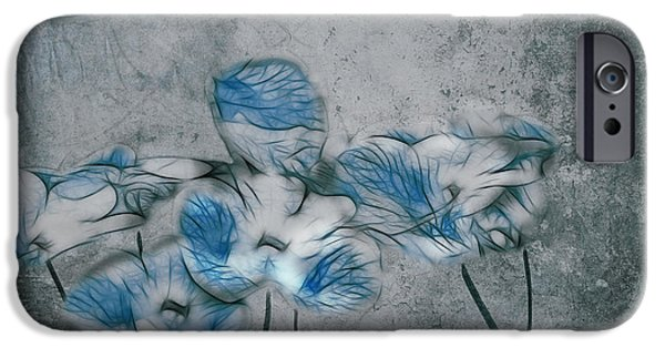 Texture Floral iPhone Cases - Romantiquite - 02a iPhone Case by Variance Collections
