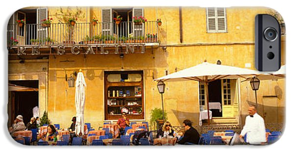 Balcony iPhone Cases - Rome Italy iPhone Case by Panoramic Images