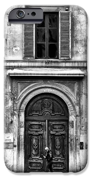 Monotone iPhone Cases - Rome iPhone Case by John Rizzuto