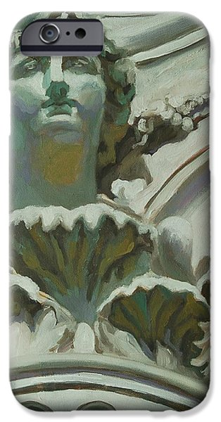 Rome Statue iPhone Case by Khairzul MG