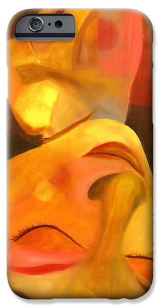 Earth Paintings iPhone Cases - Romeo and Juliet iPhone Case by Hakon Soreide