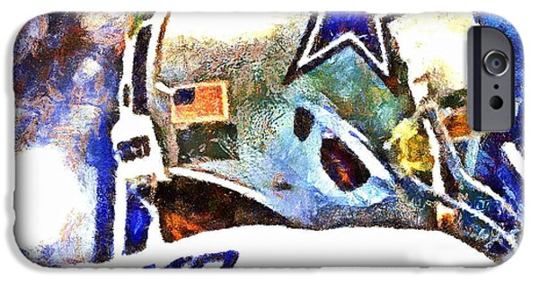 Romo iPhone Cases - Romo iPhone Case by Carrie OBrien Sibley