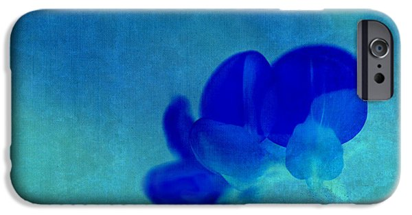Texture Flower iPhone Cases - Rondo Floral  s211at03 iPhone Case by Variance Collections