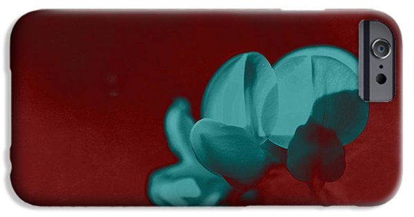 Close Up Floral iPhone Cases - Rondo Floral - s33t2r iPhone Case by Variance Collections