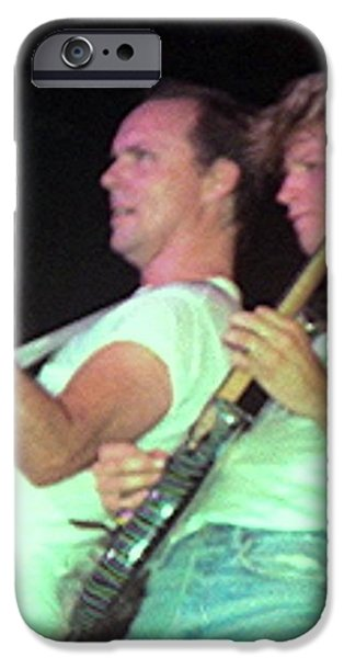 Ronnie Montrose iPhone Case by Sheryl Chapman Photography