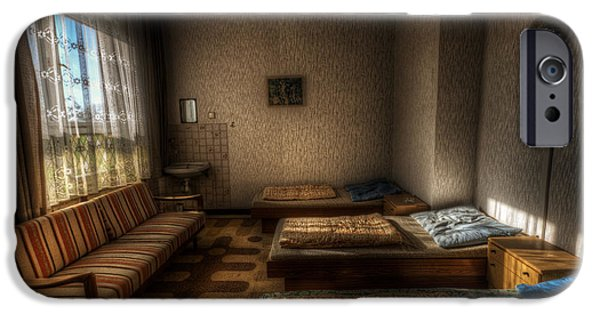 Haunted House Digital Art iPhone Cases - Room 13 iPhone Case by Nathan Wright