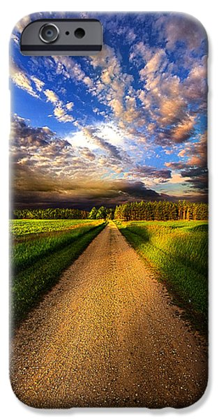 Dirt iPhone Cases - Room to Roam iPhone Case by Phil Koch