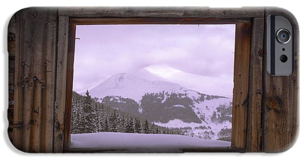 Cabin Window iPhone Cases - Room with a View iPhone Case by Amy Kesic