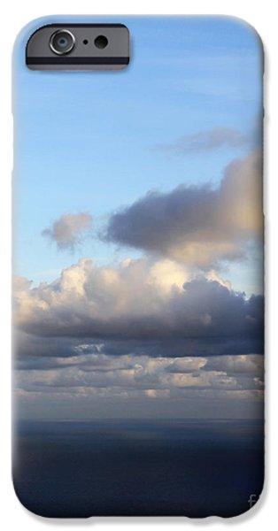 Beach Pyrography iPhone Cases - Room With A View - Day 7 iPhone Case by Steffi Louis