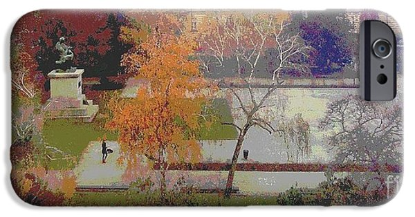 Ann Johndro-collins iPhone Cases - Room With A View Zagreb iPhone Case by Ann Johndro-Collins