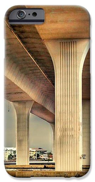Roosevelt bridge-1 iPhone Case by Rudy Umans