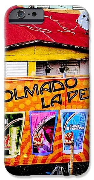Roots Of La Perla At Old San Juan iPhone Case by Sandra Pena de Ortiz