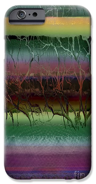 Resilience iPhone Cases - Roots iPhone Case by Ursula Freer