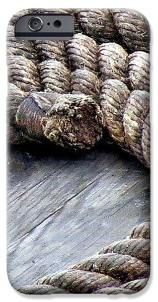 Rope iPhone Case by Janice Drew