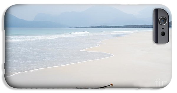 Sand Dunes iPhone Cases - Traigh Rosamol Isle of Harris iPhone Case by Janet Burdon