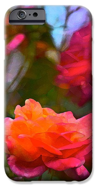 Rose 191 iPhone Case by Pamela Cooper