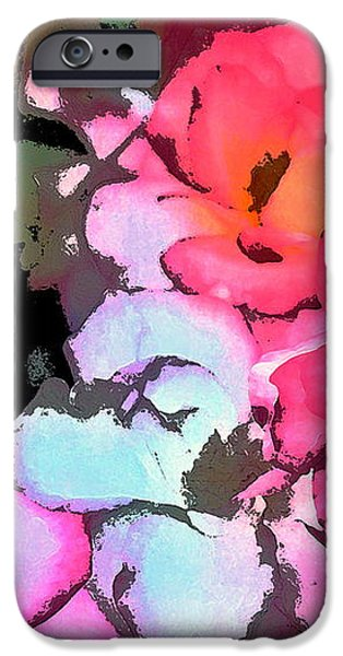 Rose 197 iPhone Case by Pamela Cooper