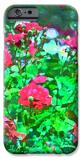 Rose 201 iPhone Case by Pamela Cooper