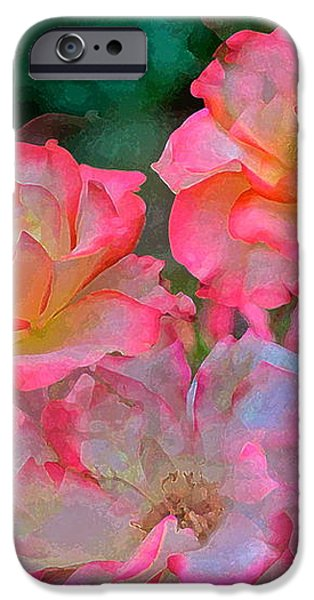 Rose 203 iPhone Case by Pamela Cooper