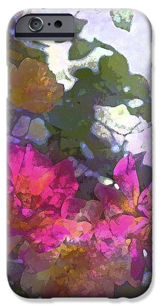 Rose 206 iPhone Case by Pamela Cooper